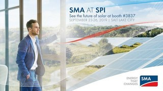 SMA America to Highlight Cutting-Edge Technology as a Megawatt Sponsor at Solar Power International