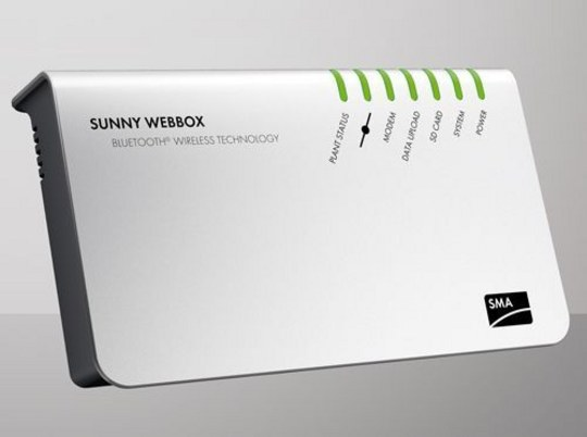 sma sunny webbox now boasts bluetooth technology rh sma america com SMA Xbox Samsung Web Box