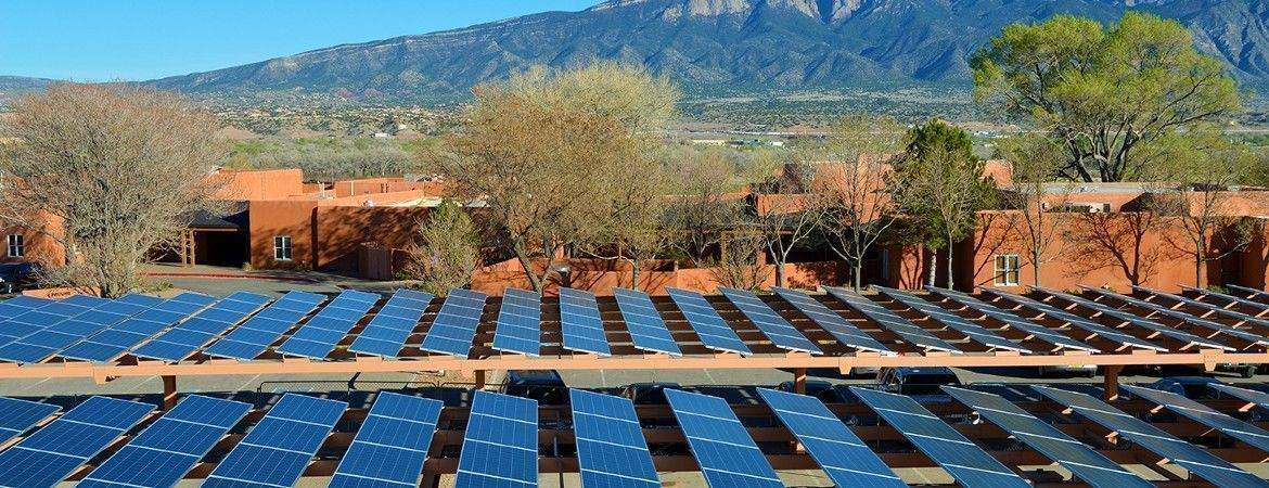 Bernalillo, New Mexiko, USA - Commercial PV System