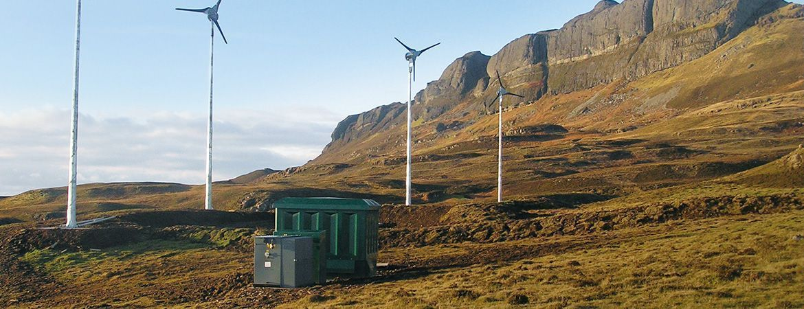 Isle of Eigg, Scotland - Off-Grid-System
