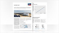 Whitepaper: Learn more about the new generation of PV power plants with true 1500 V technology.